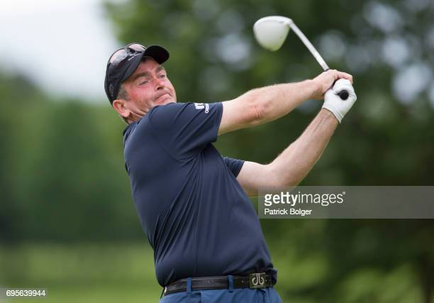 Garry Houston from Cardon Park Golf during the Titleist and Footjoy PGA Professional Championship at Luttrellstown Castle on June 13 2017 in Dublin...