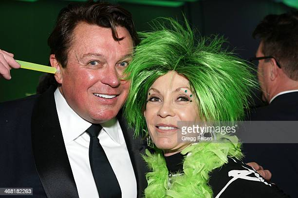 Garry Kief President of Stiletto Entertainment and Terri Ketover 100 Women Award for 2014 Honoree attends the 20th Annual Steve Chase Humanitarian...
