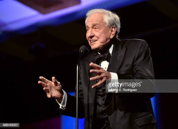 Garry Marshall accepts the Paddy Chayefsky Laurel Award for Television Writing Achievement onstage at the 2014 Writers Guild Awards LA Ceremony at JW...
