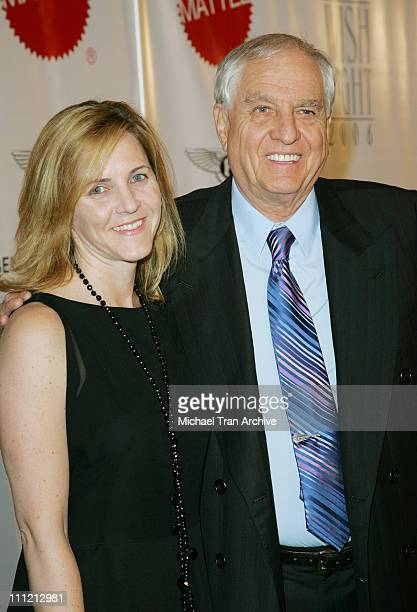 Garry Marshall and daughter Kathleen during Wish Night 2006 Awards Gala at The Beverly Hills Hotel in Beverly Hills California United States