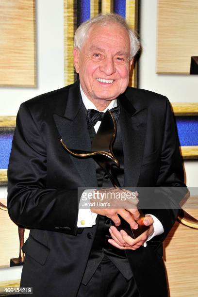 Garry Marshall attends the 2014 Writers Guild Awards LA Ceremony Press Room at JW Marriott Los Angeles at LA LIVE on February 1 2014 in Los Angeles...