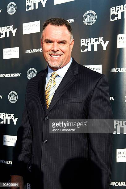 Garry McCarthy attends Sundance Channel's Brick City screening at the Newark Symphony Hall on September 15 2009 in Newark New Jersey