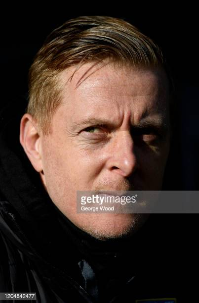 Garry Monk manager of Sheffield Wednesday looks on ahead of the Sky Bet Championship match between Barnsley and Sheffield Wednesday at Oakwell...
