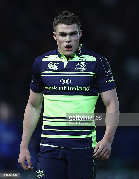 Garry Ringrose of Leinster looks on during the European Rugby Champions Cup match between Northampton Saints and Leinster at Franklin's Gardens on...