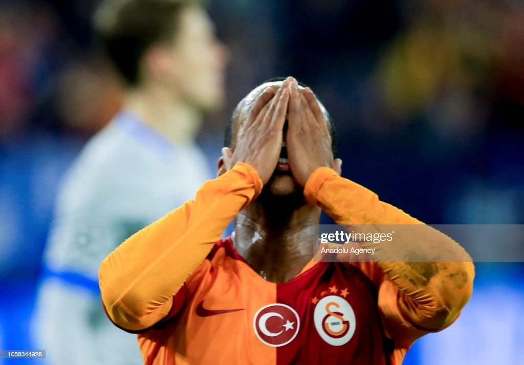 Schalke 04 vs Galatasaray : UEFA Champions League : News Photo