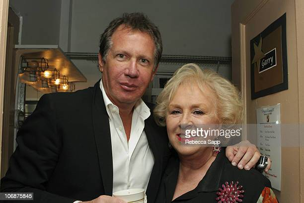 """Garry Shandling and Doris Roberts during The Children Affected by AIDS Foundation Presents """"Night of Comedy IV"""" Fundraising Event at Wilshire Theatre..."""