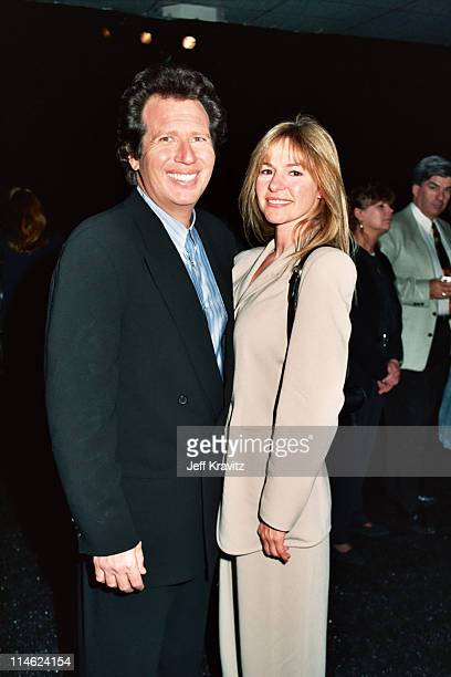 Garry Shandling and Linda Doucett during 6th Comic Relief To Benefit The Homeless at Shrine Auditorium in Los Angeles CA United States