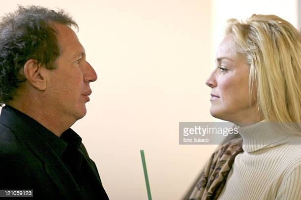 Garry Shandling and Sharon Stone during 21st Annual Santa Barbara International Film Festival Special Thanks to Roy London at Victoria Theatre in...