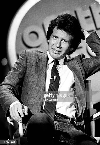 Garry Shandling performing on a TV Show in Hollywood CA