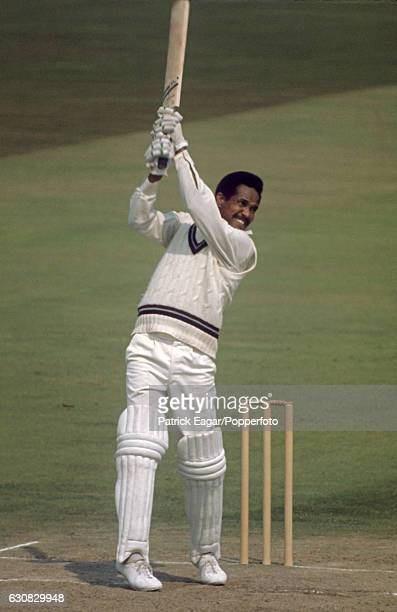 Garry Sobers batting for West indies during the 2nd Test match between England and West Indies at Edgbaston, Birmingham, 14th August 1973.