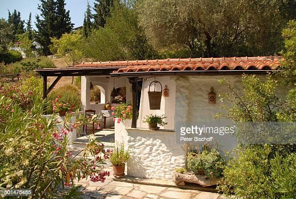 Gartenterrasse Haus von Ivan Rebroff Insel Skopelos Ägäisches Meer Ägäis Griechenland Europa Homestory Promi BB DIG PNr 1161/2008