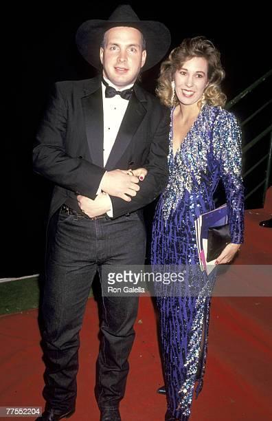 Garth Brooks and Sandy Mahl