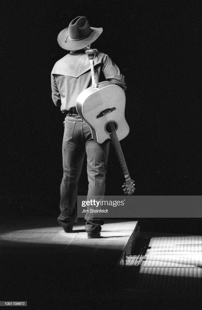 Garth Brooks performs at the Target Center in Minneapolis, Minnesota on February 23, 1994.