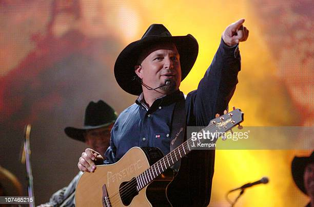 Garth Brooks performs Good Ride Cowboy during The 39th Annual CMA Awards Garth Brooks Performs in Times Square at Times Square in New York City New...