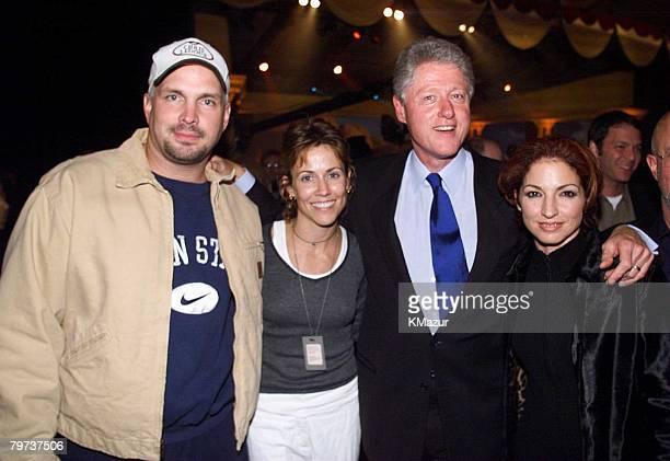 Garth Brooks Sheryl Crow Bill Clinton Gloria Estefan