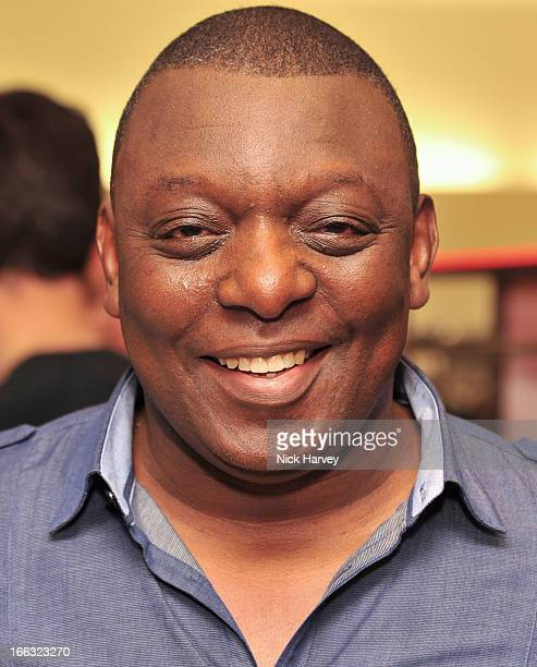 Garth Crooks attends the launch of Soul II Soul 'Classics' collection at Harvey Nichols on April 11 2013 in London England
