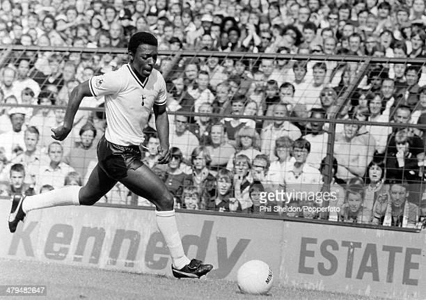 Garth Crooks in action for Tottenham Hotspur during a First Division match between Tottenham Hotspur and Brighton and Hove Albion at White Hart Lane...