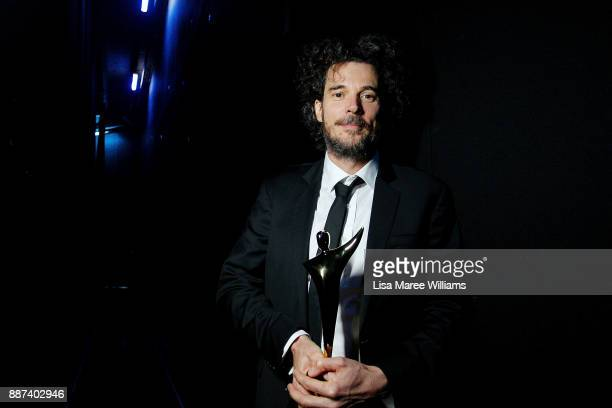Garth David poses backstage during the 7th AACTA Awards Presented by Foxtel at The Star on December 6 2017 in Sydney Australia