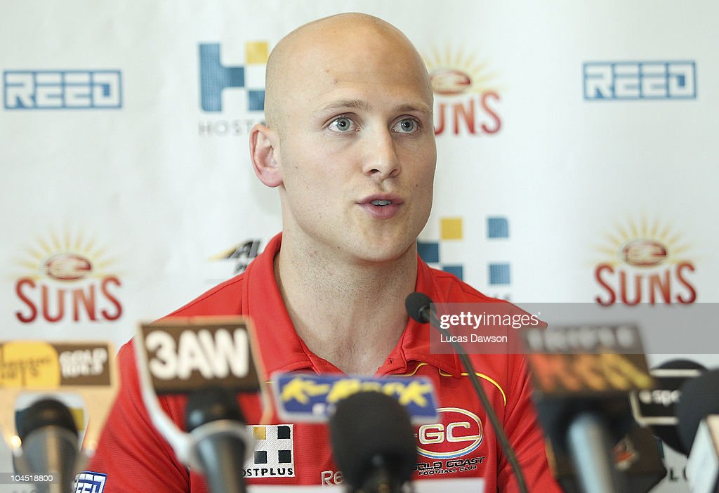 Gary Ablett Jr Press Conference : News Photo