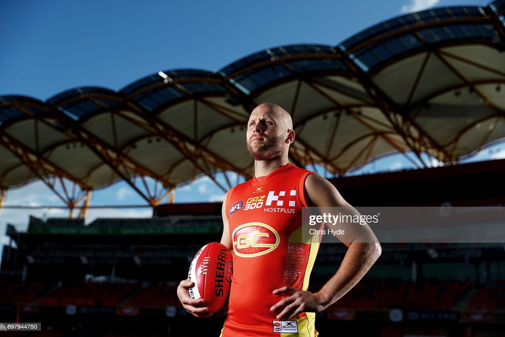 Gary Ablett Portrait Session Ahead of 300th Game