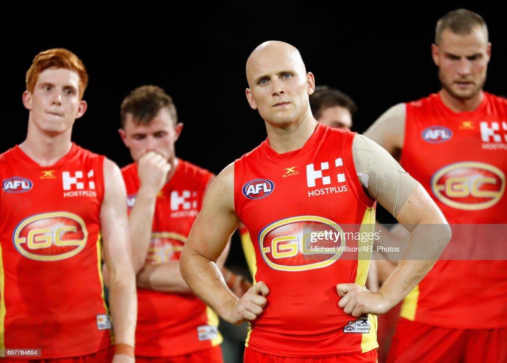 AFL Rd 1 - Gold Coast v Brisbane : News Photo