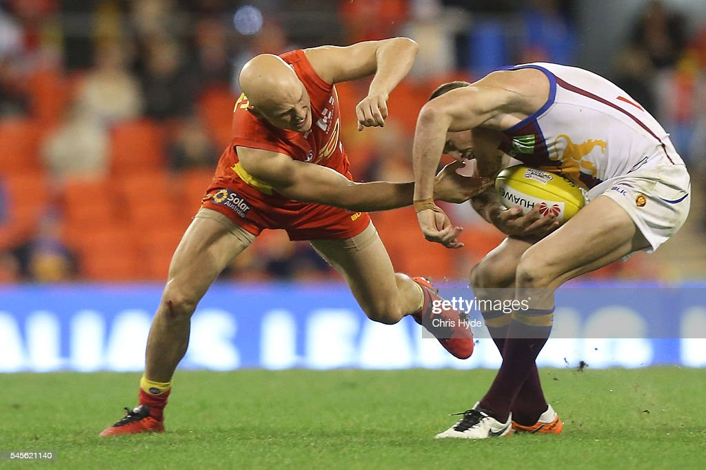 AFL Rd 16 - Gold Coast v Brisbane