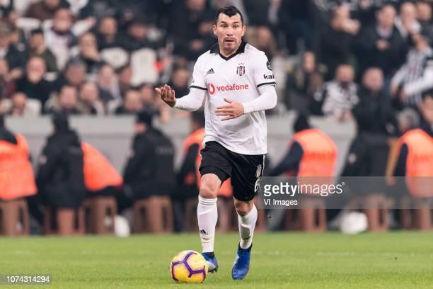 Gary Alexis Medel Soto of Besiktas JK during the Turkish Spor Toto Super Lig football match between Besiktas JK and Trabzonspor AS on December 16...
