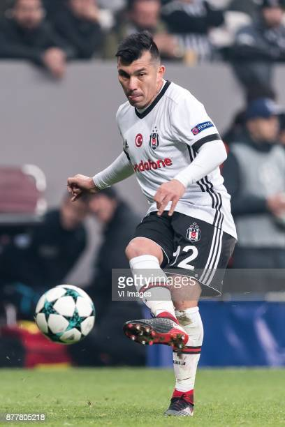 Gary Alexis Medel Soto of Besiktas JK during the UEFA Champions League group G match between Besiktas JK and FC Porto on November 21 2017 at the...