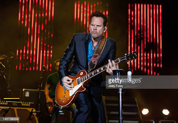Gary Allan performs live during the 2012 Country Throwdown Tour at Hoosier Park Racing Casino on June 3 2012 in Anderson Indiana