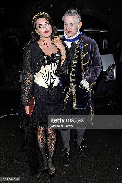 Gary and Danielle Lineker are seen during annual Halloween Party on November 01 2012 in London United Kingdom