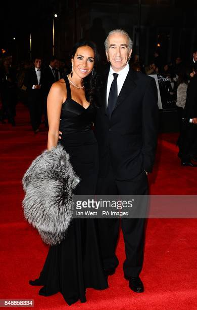 Gary and Nadine Barber arriving for the Royal World premiere of Skyfall at the Royal Albert Hall London
