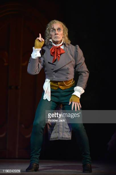 Gary Avis as Dr Coppelius in The Royal Ballet's Production Of Ninette De Valois' Coppelia at The Royal Opera House on November 26 2019 in London...