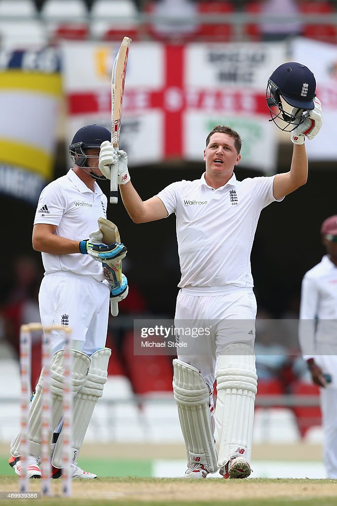 West Indies v England - 1st Test: Day Four