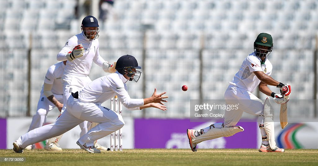 Bangladesh v England - First Test: Day Four