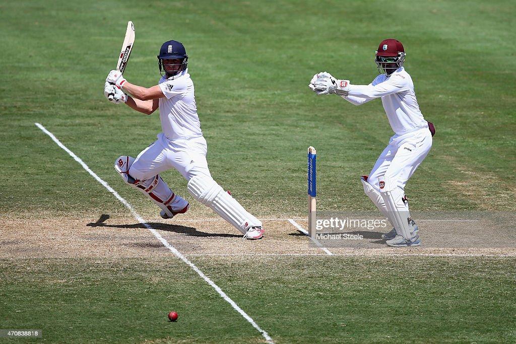 West Indies v England - 2nd Test: Day Three