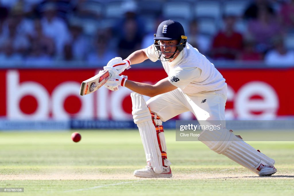 England v South Africa - 1st Investec Test: Day Three