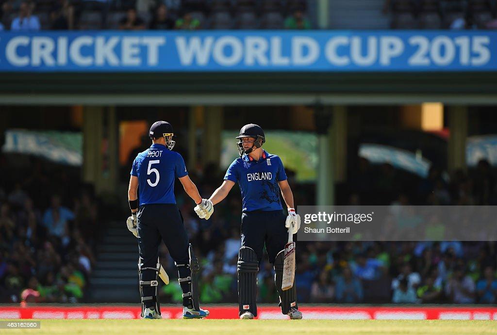 England v Pakistan - ICC CWC Warm Up Match