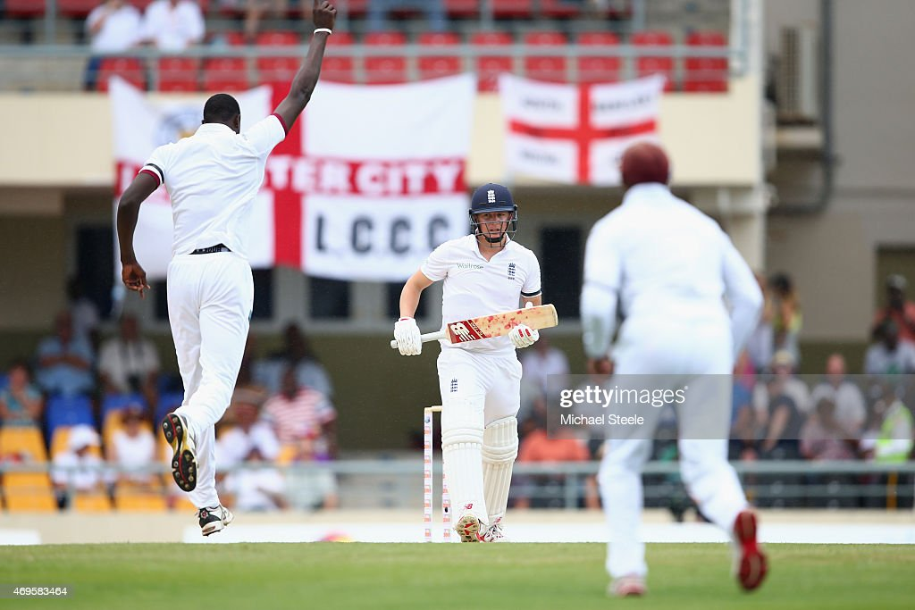 West Indies v England - 1st Test: Day One