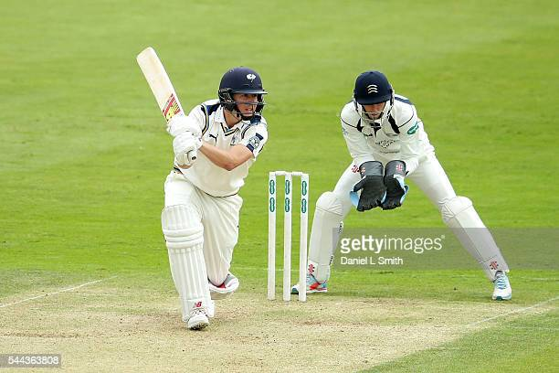 Gary Ballance of Yorkshire bats during day one of the Specsavers County Championship division one match between Yorkshire and Middlesex at North...