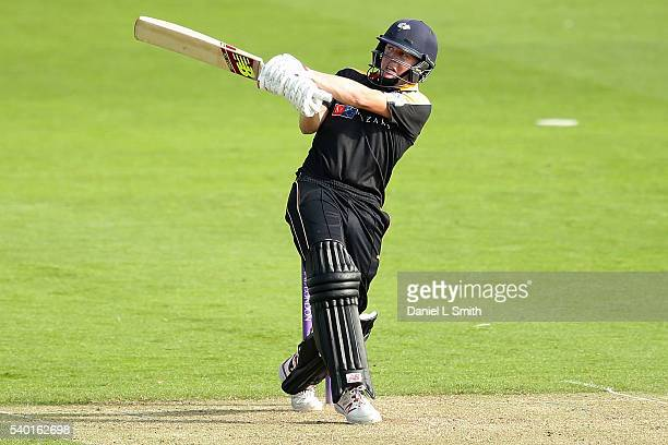 Gary Ballance of Yorkshire bats during the Royal London OneDay Cup match between Yorkshire and Northamptonshire on June 14 2016 in Scarborough England
