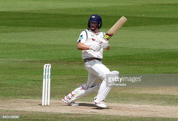 Gary Ballance of Yorkshire during day four of the Specsavers County Championship Division One match between Durham and Yorkshire at Emirates Durham...
