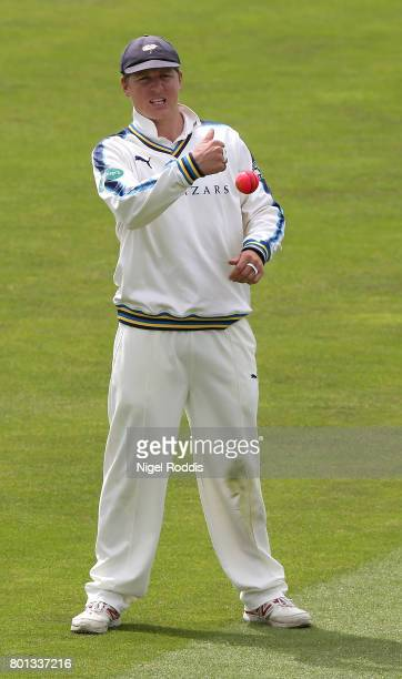 Gary Ballance of Yorkshire during the Specsavers County Championship Division One match between Yorkshire and Surrey at Headingley on June 26 2017 in...