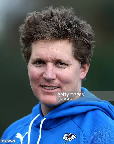 Gary Ballance of Yorkshire during the Yorkshire CCC Media Day at Headingley on April 8 2016 in Leeds England