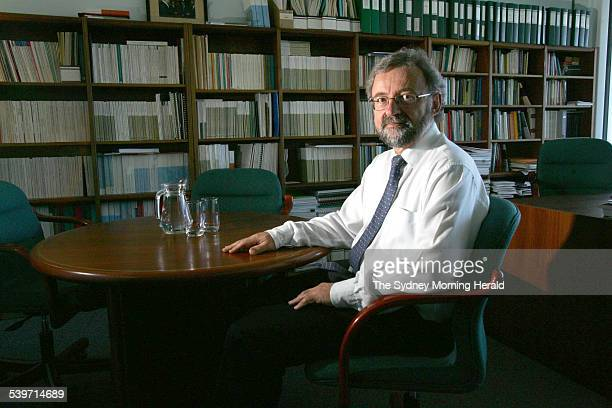 Gary Banks Chairman of the Productivity Commission 18 November 2005 SMH Picture by ANDREW TAYLOR