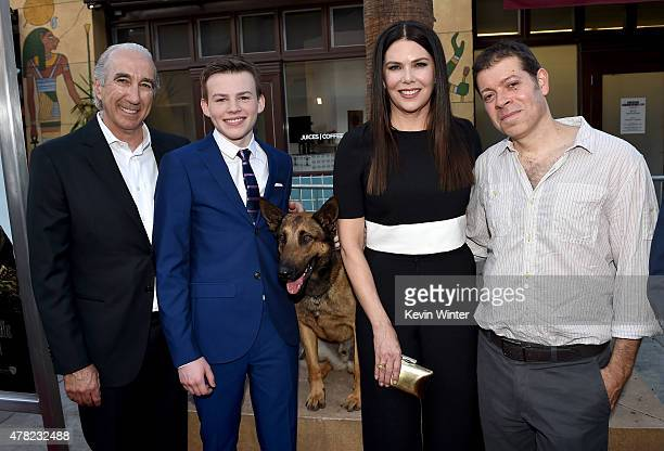 Gary Barber Chairman and CEO MGM actor Josh Wiggins Jagger Max actress Lauren Graham and writer/director/executive producer Boaz Yakin arrive at the...