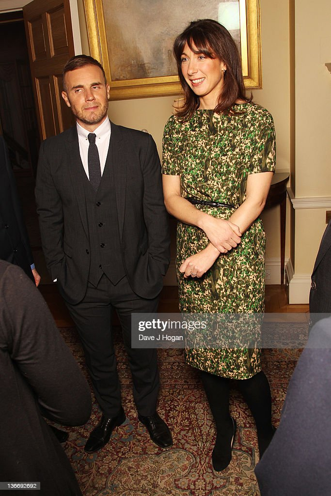 BBC Children In Need Reception At 10 Downing Street - Hosted By Samantha Cameron