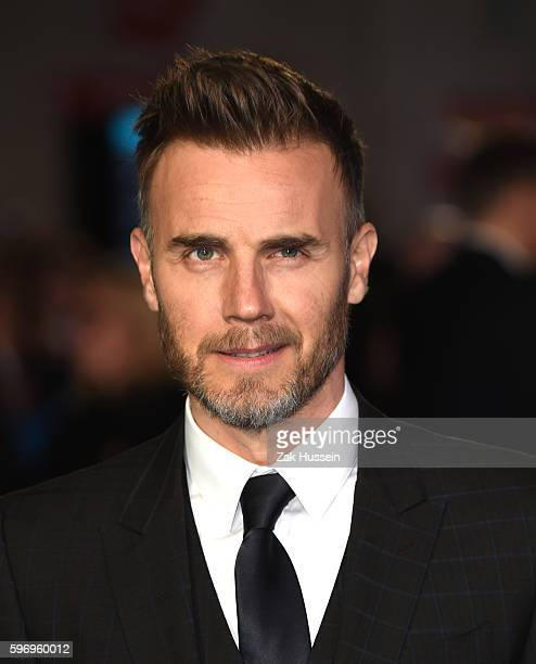Gary Barlow arriving at the European premiere of Eddie the Eagle at the Odeon Leicester Square in London
