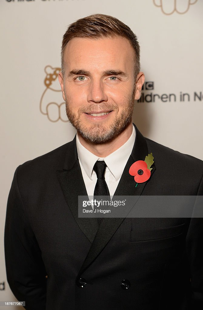 Gary Barlow Hosts BBC Children In Need Gala