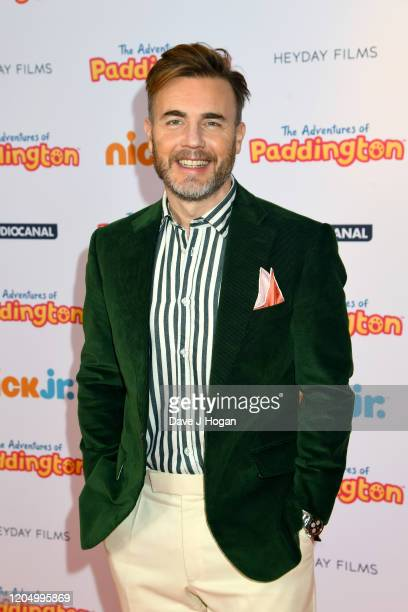 """Gary Barlow attends """"The Adventures Of Paddington"""" UK Premiere at Ham Yard Hotel on February 09, 2020 in London, England."""