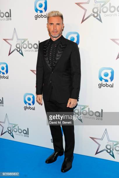 Gary Barlow attends The Global Awards 2018 at Eventim Apollo Hammersmith on March 1 2018 in London England